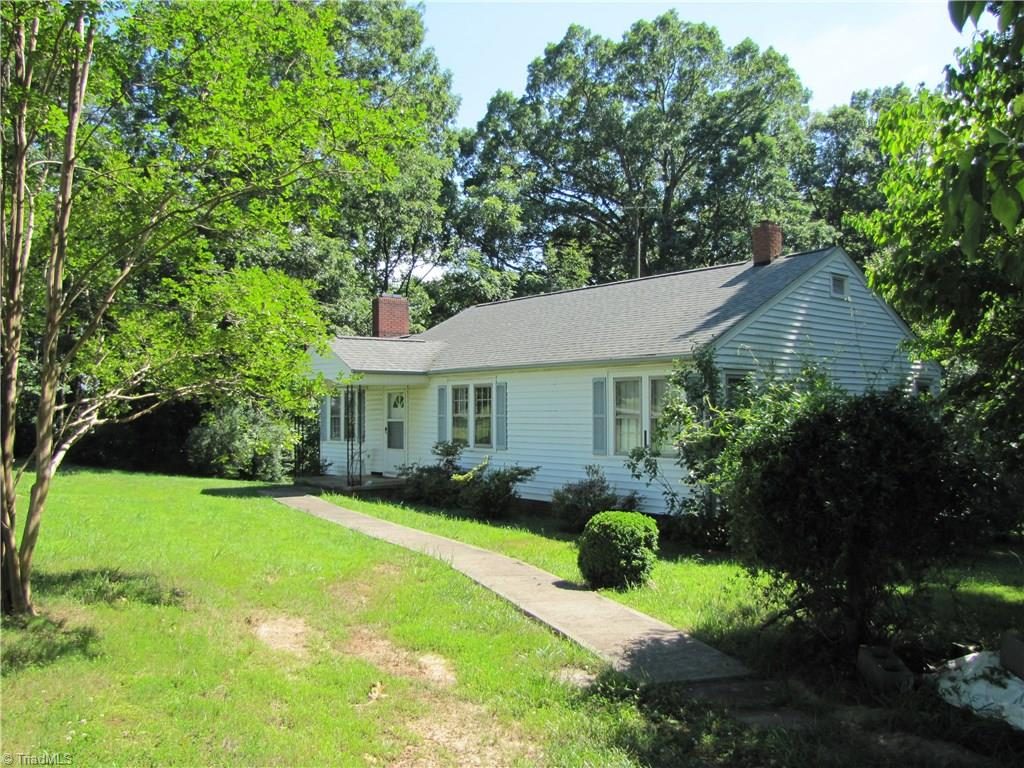 Small farm with ranch style home. 7 acres clear land that is leased for 2019 with the remaining 8 acres in mature hardwoods. Couple tobacco barns and small creek borders one side of land. 3 bedroom 1 bath home with oil heat and wood stove in basement also central air. Oak hardwood floors. Large laundry washer/dryer stay. Power has been updated to breakers. Sun porch not included in sq ft. Home being sold as is.