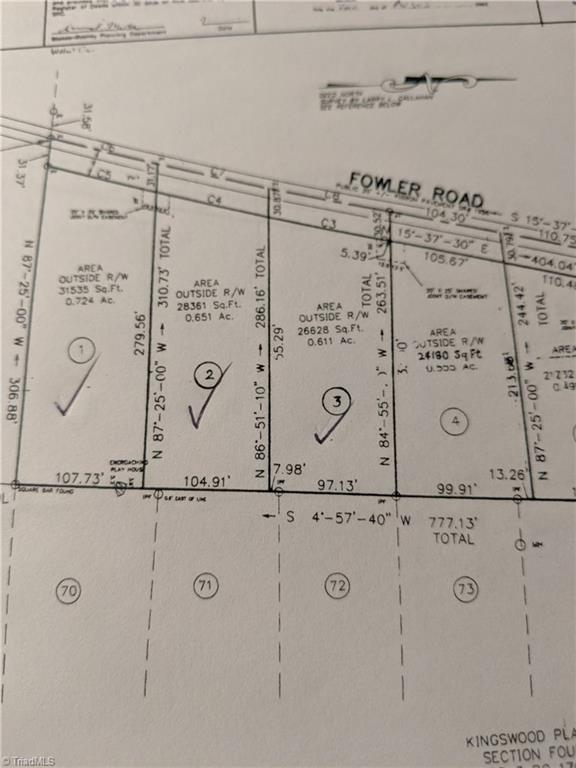 Ideal wood lot containing 0.61 acres.
