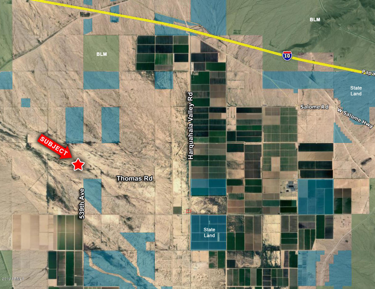 53900 W Thomas Road # 33, Harquahala, Arizona 85343, ,Land,For Sale,53900 W Thomas Road # 33,5991448