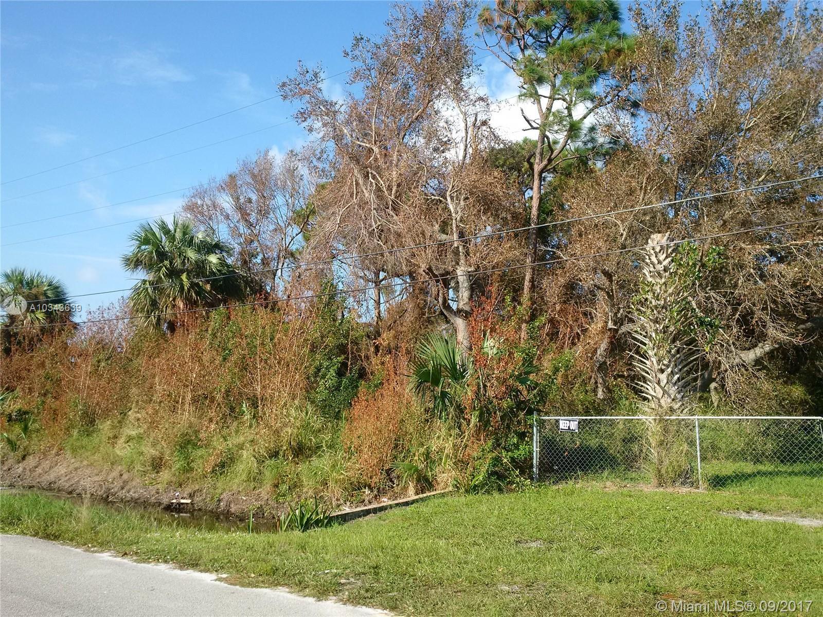 1790 AVE Q, Fort Pierce, Florida 34950, ,Land/boat Docks,For Sale,1790 AVE Q,A10343639