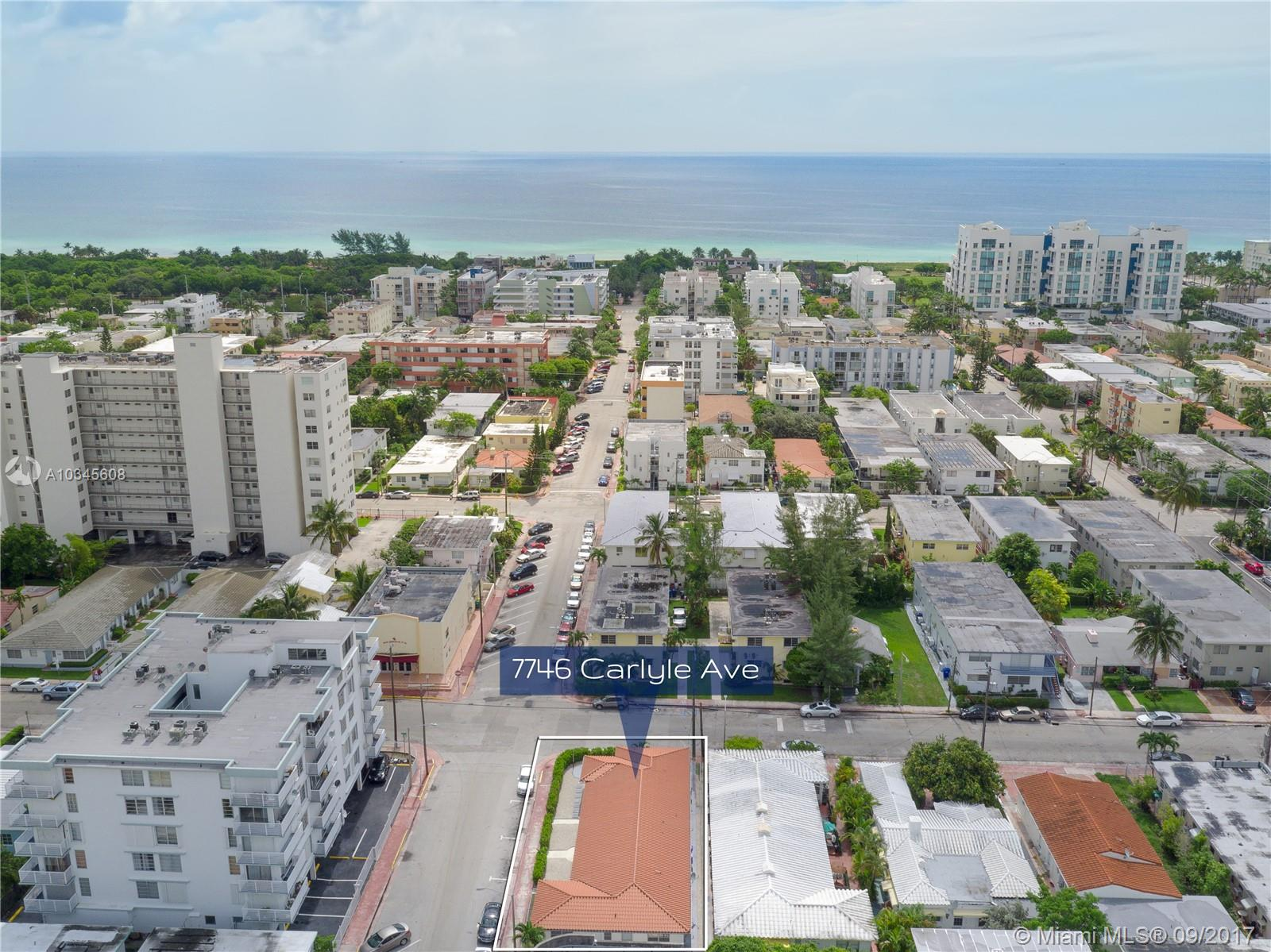 7746 Carlyle Ave, Miami Beach, Florida 33141, ,Commercial Sale,For Sale,7746 Carlyle Ave,A10345608