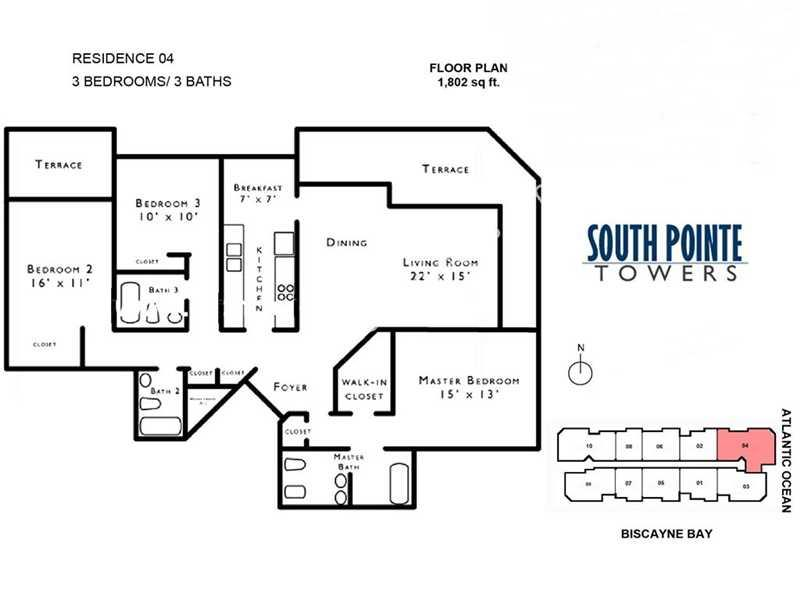 South Pointe Tower #1204 - 09 - photo