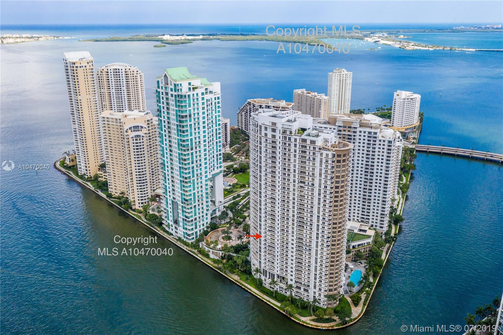 Carbonell #1406 - 901 Brickell Key Blvd #1406, Miami, FL 33131