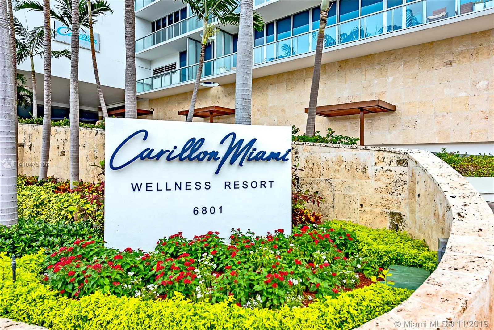 Carillon Hotel Tower #1004 - 6801 Collins Ave #1004, Miami Beach, FL 33141