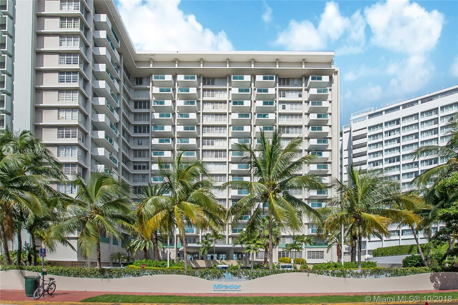 Mirador South #821 - 1000 West Ave #821, Miami Beach, FL 33139