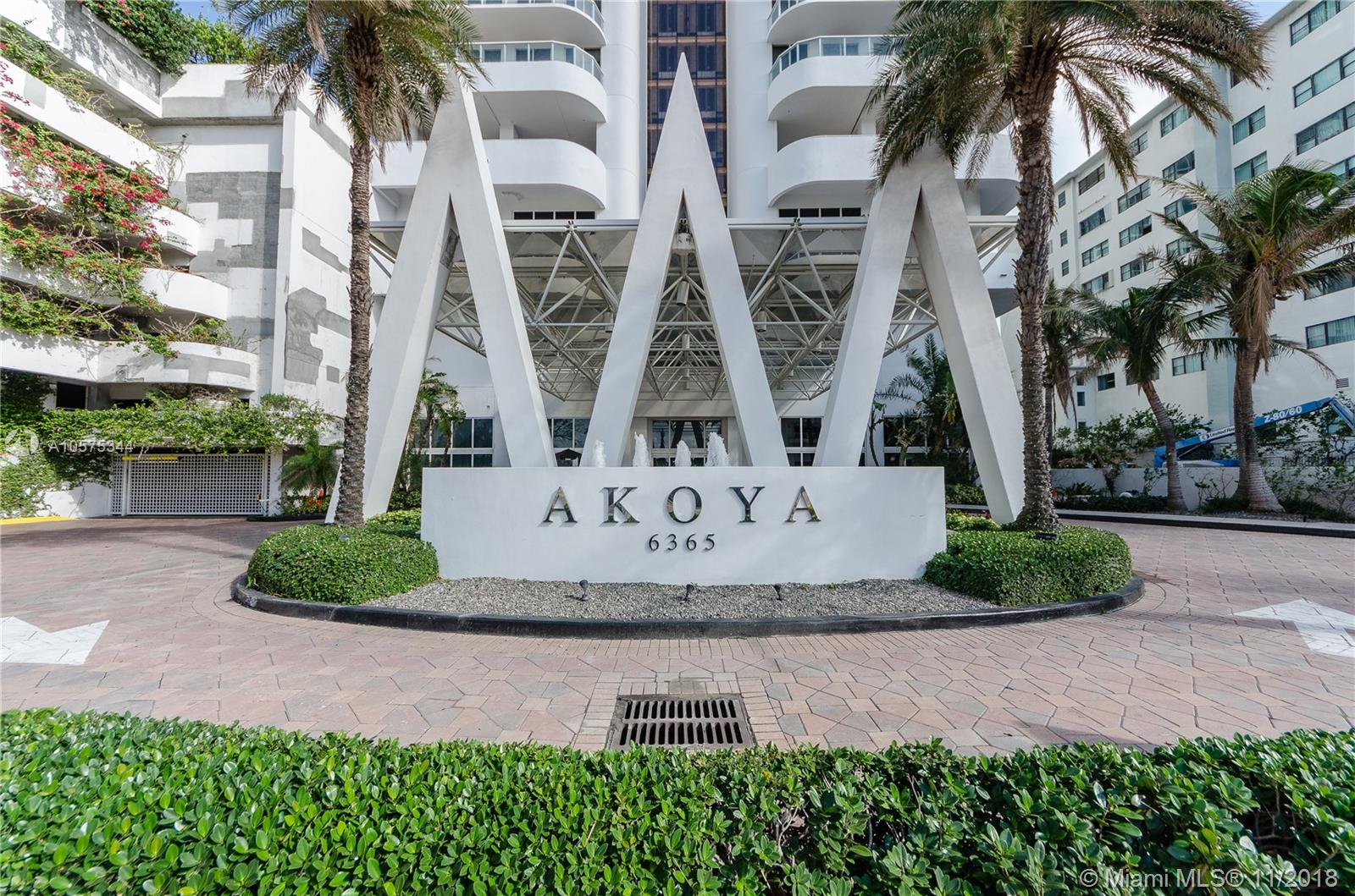 Akoya #CAB2 - 6365 Collins Ave #CAB2, Miami Beach, FL 33141