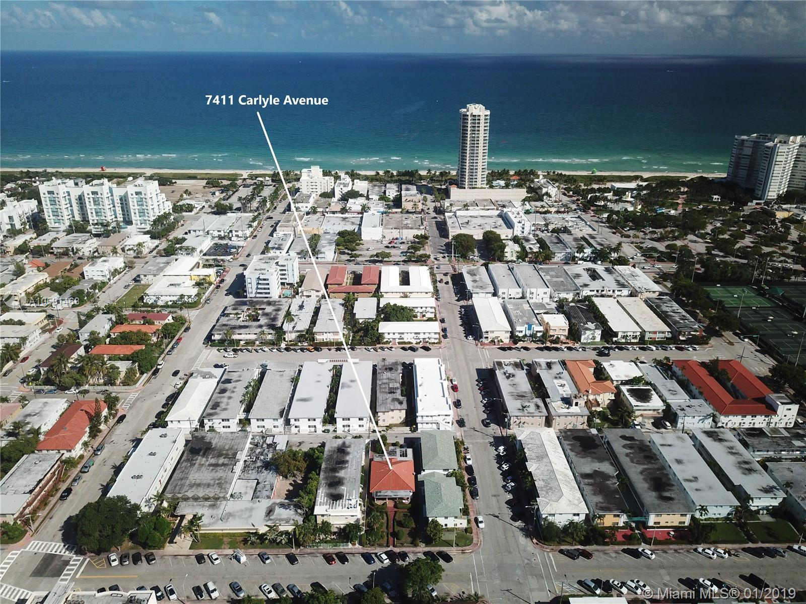 7411 Carlyle Ave, Miami Beach, Florida 33141, ,Commercial Sale,For Sale,7411 Carlyle Ave,A10581468