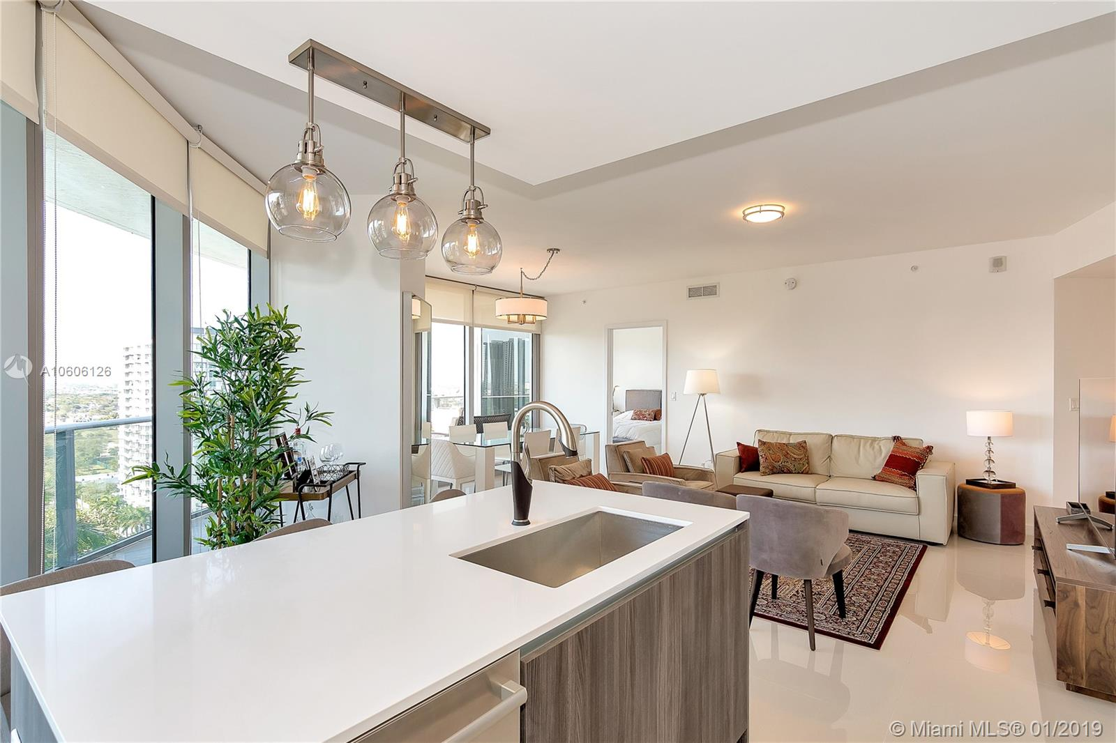 488 NE 18 st # 1700, Miami, Florida 33132, 2 Bedrooms Bedrooms, ,3 BathroomsBathrooms,Residential,For Sale,488 NE 18 st # 1700,A10606126
