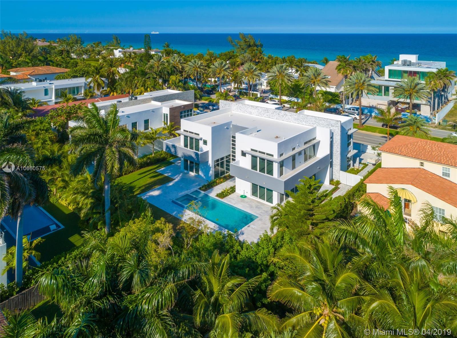 266 Ocean Blvd, Golden Beach FL 33160