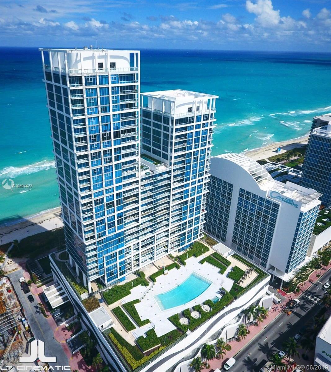 Carillon Hotel Tower #814 - 6801 Collins Ave #814, Miami Beach, FL 33141
