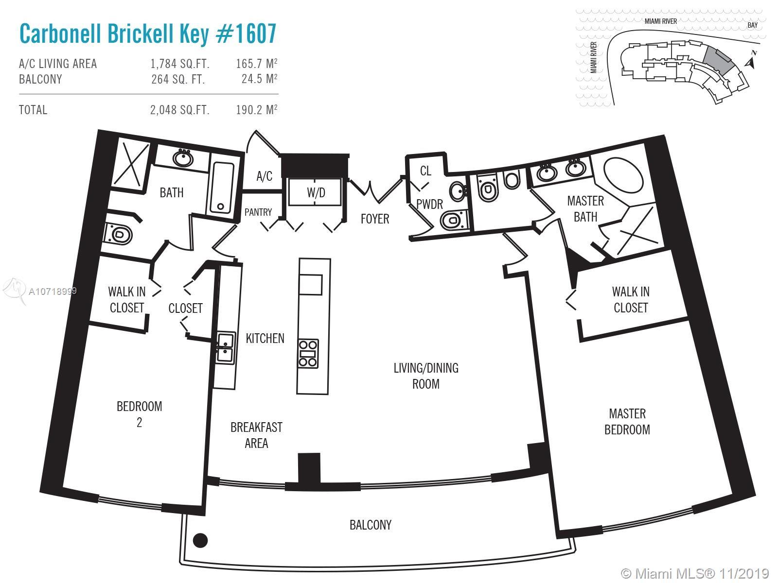 901 Brickell Key Blvd #1607 photo022