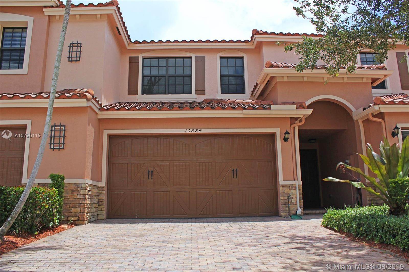 Property for sale at 10884 NW 72nd Pl # 10884, Parkland FL 33076 Unit 10884, Parkland,  Florida 33076