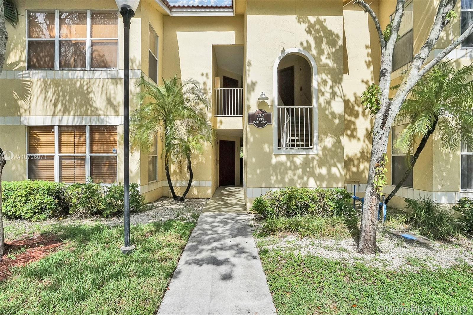 Property for sale at 437 Vista Isles Dr # 2224, Sunrise FL 33325 Unit 2224, Sunrise,  Florida 33325