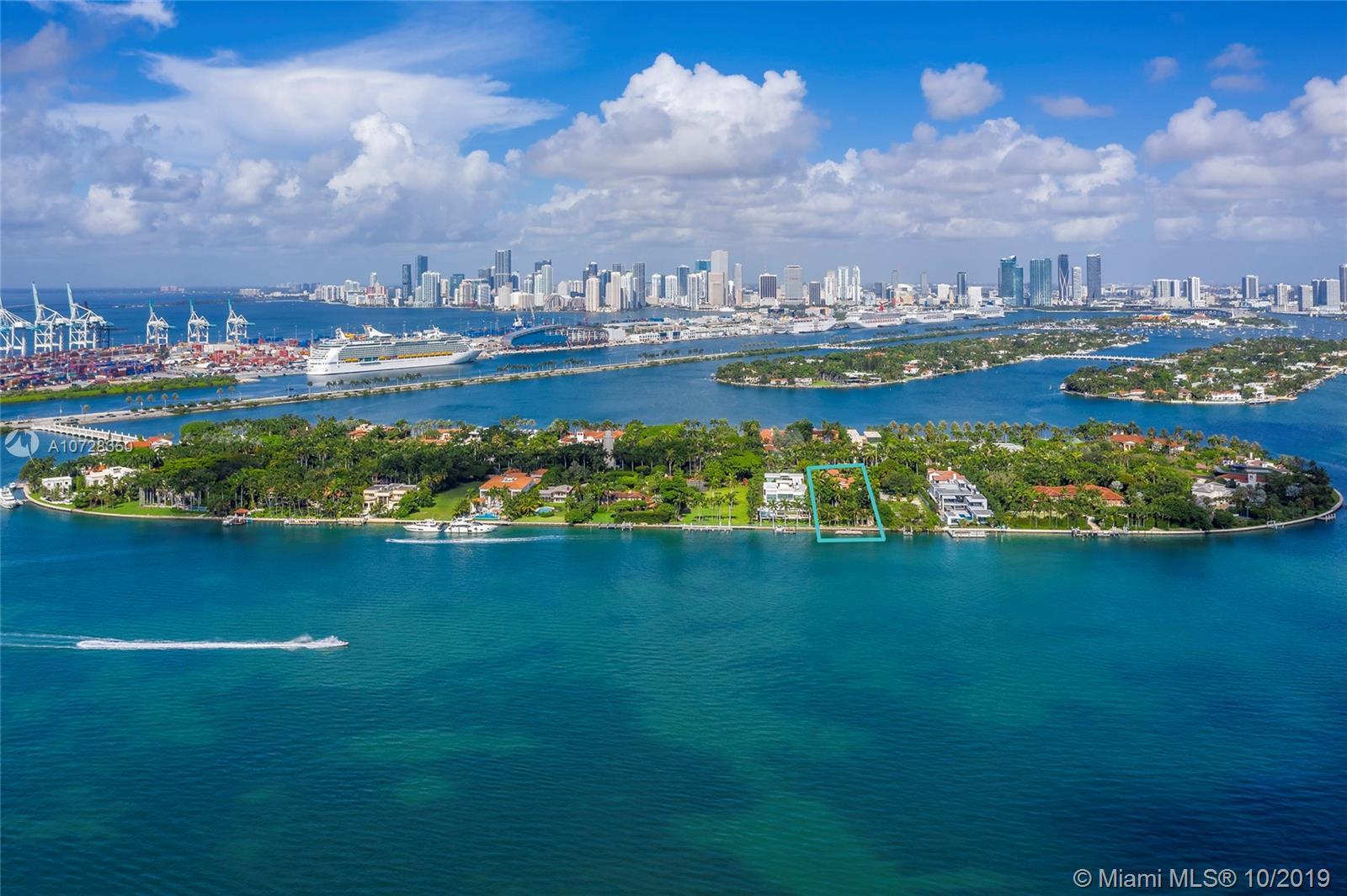 Дом в США по адресу 29 Star Island Dr, Miami Beach, FL 33139