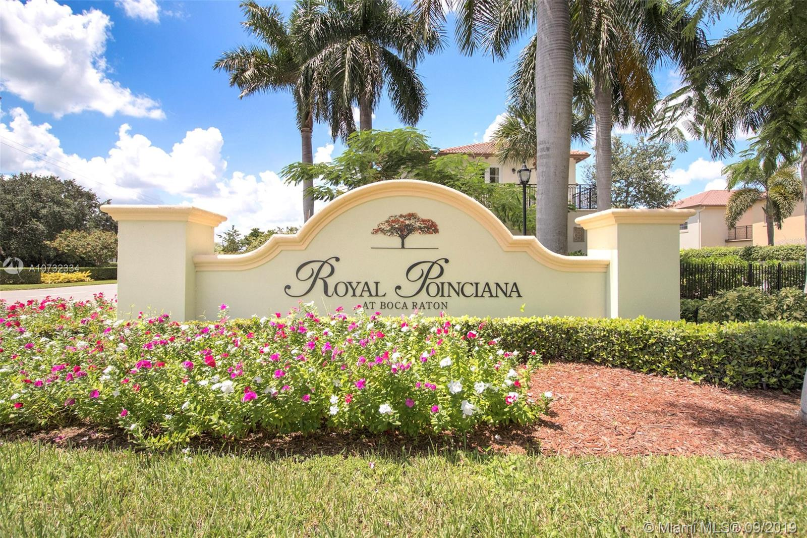 Property for sale at 64 Via Poinciana Ln Unit: 64, Boca Raton,  Florida 33487