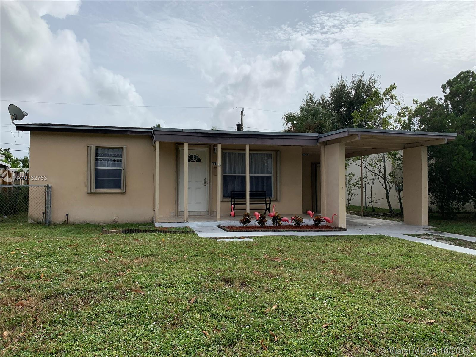 Property for sale at 110 NE 56th St, Oakland Park,  Florida 33334