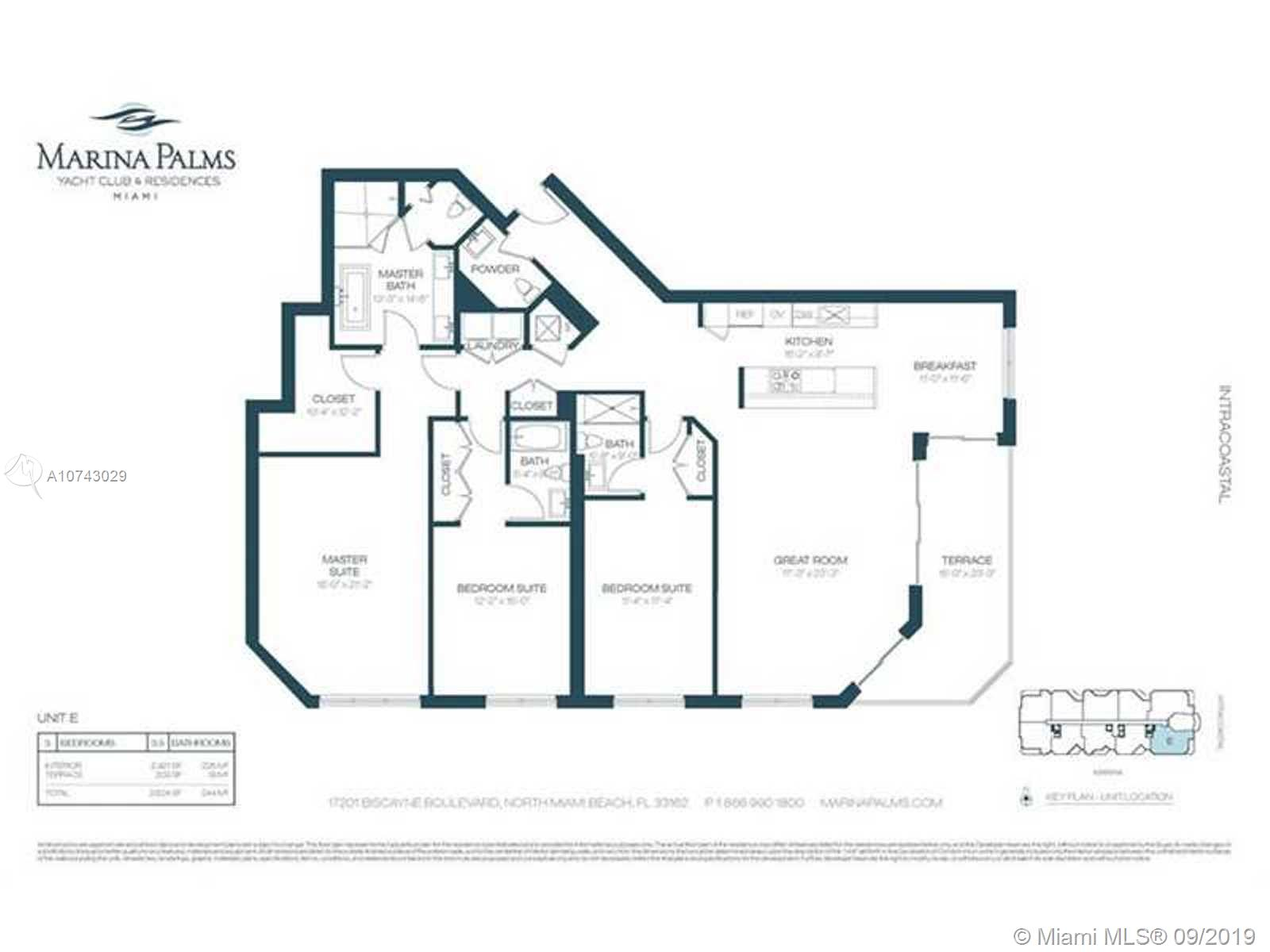 17301 Biscayne Blvd # 1109, Aventura, Florida 33160, 3 Bedrooms Bedrooms, ,4 BathroomsBathrooms,Residential,For Sale,17301 Biscayne Blvd # 1109,A10743029