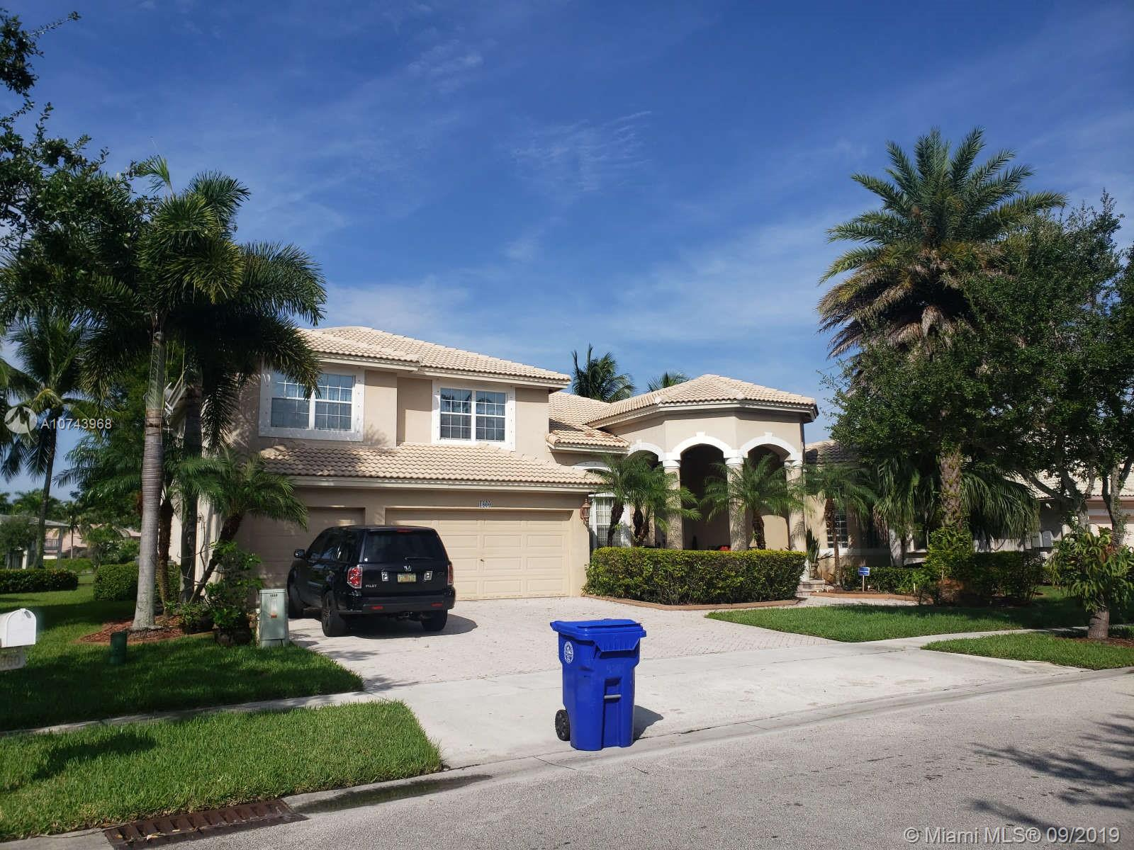 Property for sale at 1860 NW 168th Ave, Pembroke Pines,  Florida 33028