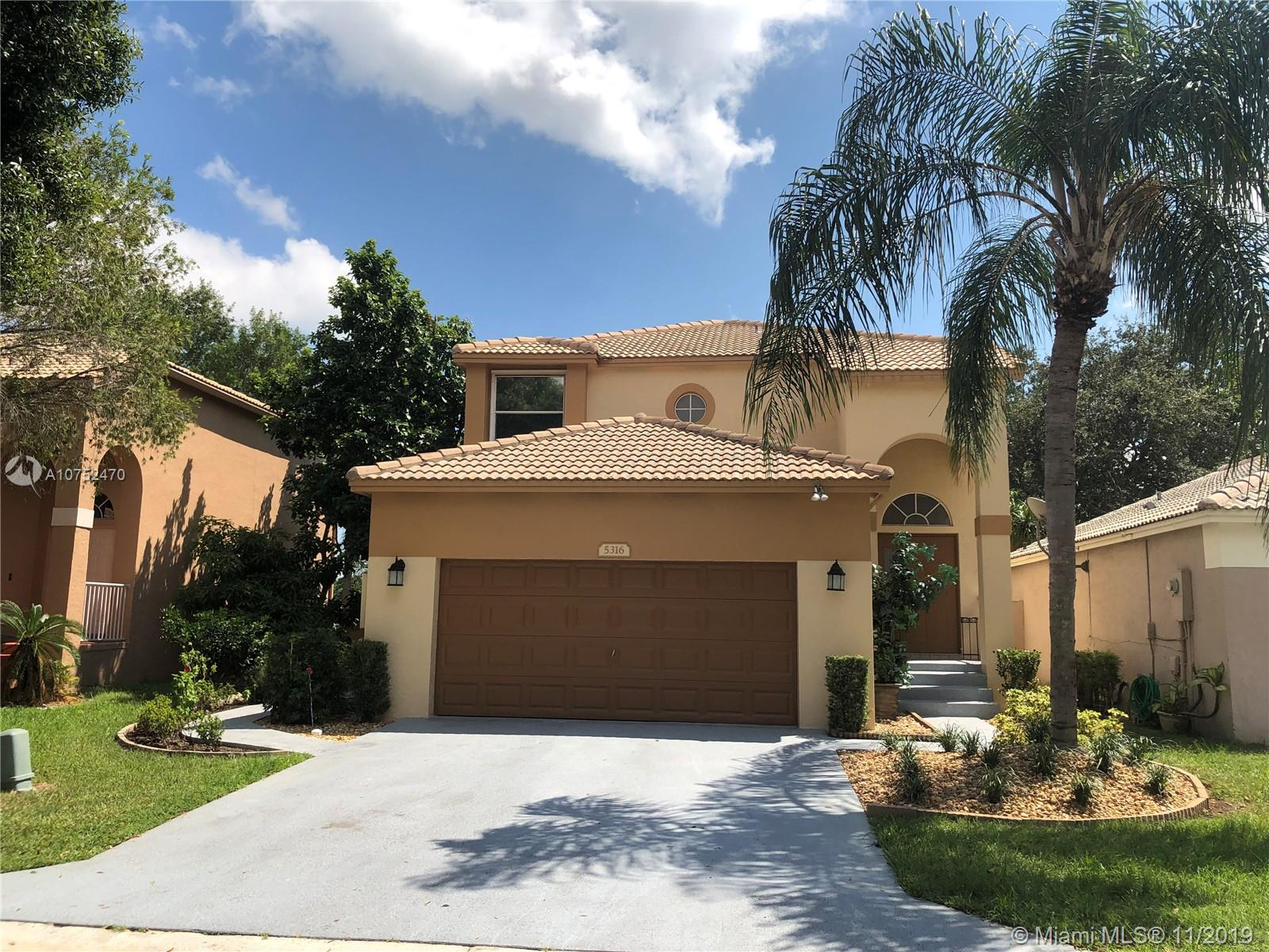 Property for sale at 5316 Eagle Cay Way, Coconut Creek,  Florida 33073