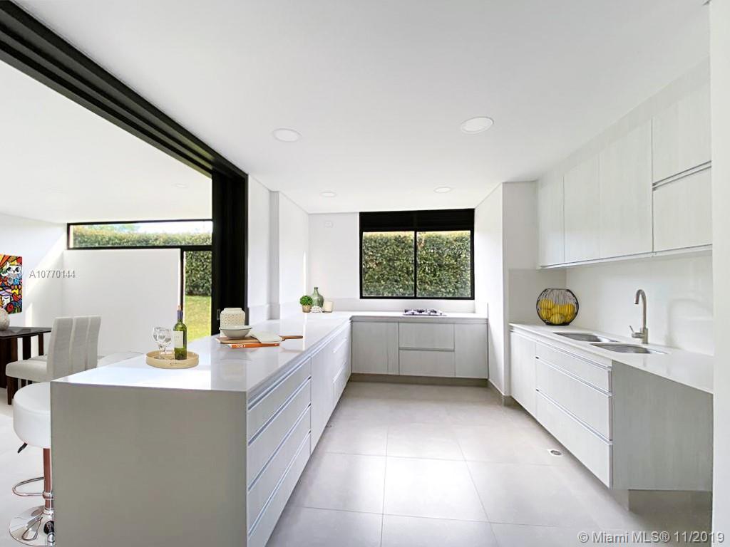 Virtual stating of kitchen - Escena virtual de la cocina.