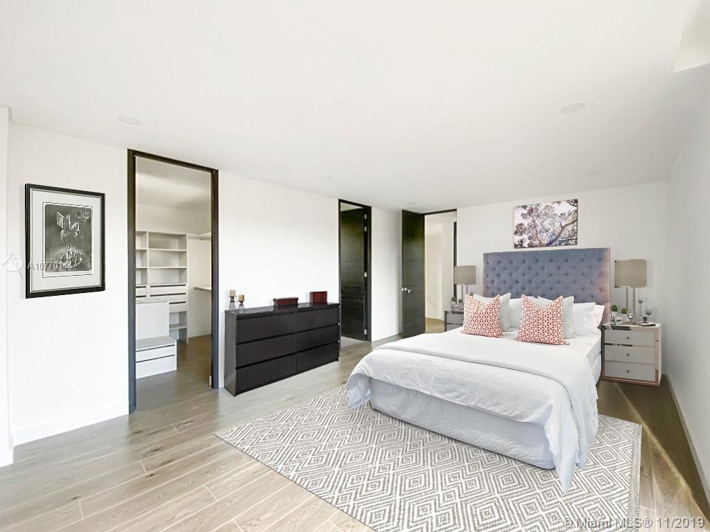 Virtual staging of Master Bedroom - Escena virtual de la alcoba principal