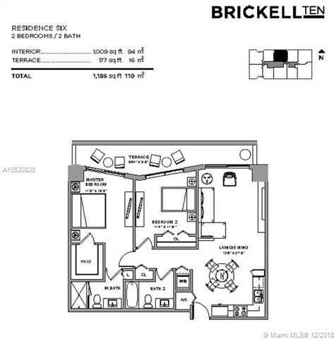 Brickell Ten #1006 photo12