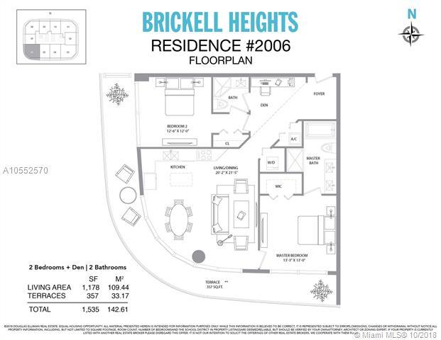 Brickell Heights #2006 photo18