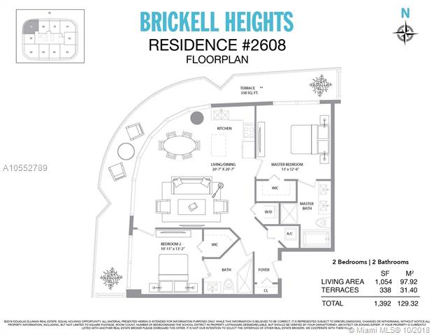Brickell Heights #2608 photo15