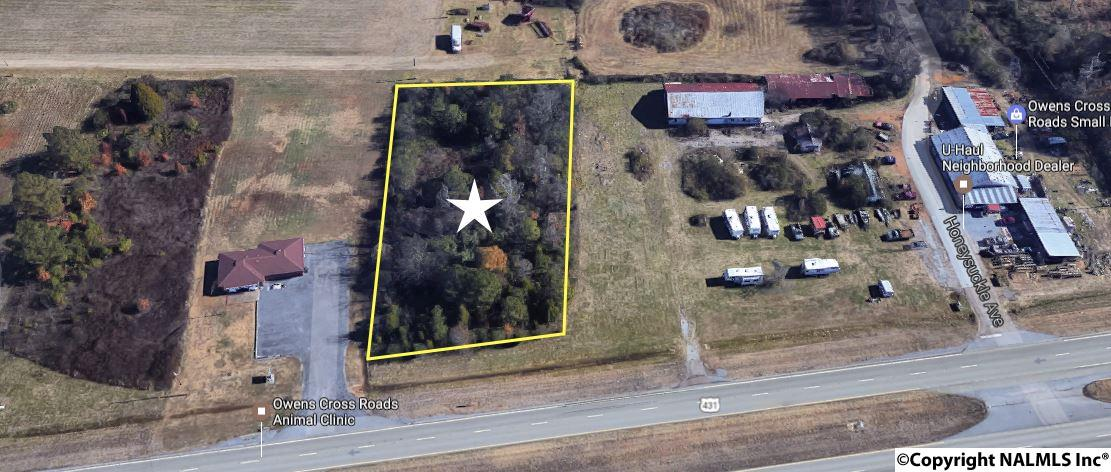 Photo of home for sale at 0 US Hwy 431, Owens Cross Roads AL